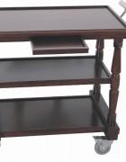 holz servierwagen buche. Black Bedroom Furniture Sets. Home Design Ideas