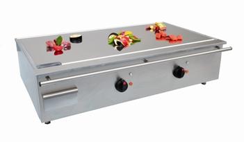 Japanische teppanyaki grillplatte gas elektro for Grillplatte küche