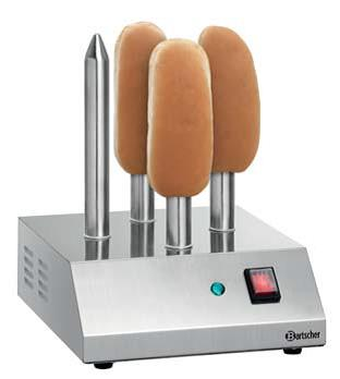 bartscher hot dog spie toaster t4 230v 190w. Black Bedroom Furniture Sets. Home Design Ideas