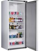 COOL Umluft-Gewerbekühlschrank RC 600 WEIß