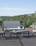 Lounge Set SUNSET silbergrau