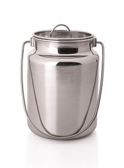 Milchkanne Edelstahl 1,5 Liter - Günstige Ausführung
