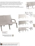 Grosfillex Lounge SUNSET 3er Sitzer