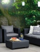 Burano Lounge-Gruppe 4-teilig