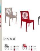 Stuhl TULIPE ohne Armlehnen