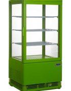 Saro Mini Umluftkühlvitrine SC 70 grün