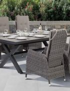Rattan Tischgruppe Kingston Outdoor