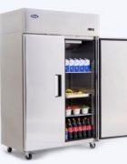 Atosa Volltürkühlschrank 2-türig mit Räder