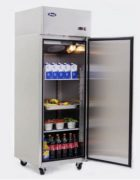 Atosa Volltürkühlschrank 670L mit Räder