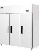 Atosa Kompakt Kühlschrank 3-türig