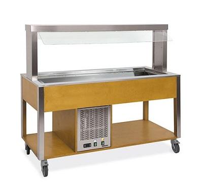 Buffetwagen cold 5xGN 1/1 Metalcarrelli