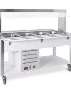 Buffetwagen hot 4xGN1/1 Metalcarrelli