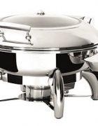 Induktion Chafing Dish rund