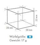M-Würfel 28x28x23mm
