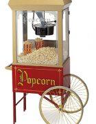 2 Rad Unterwagen für Popcornmaschine Nostalgie