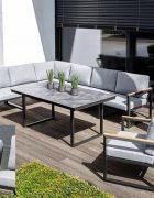 Casual Dining Lounge Ocean Skid Teak