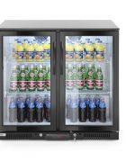 Bar Kühlschrank doppeltürig 228 Liter