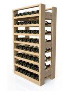 VisioBois Weinregal Holz 48 Flaschen