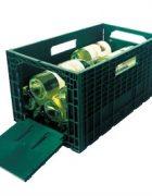Winebox Faltbare Weinkiste grün
